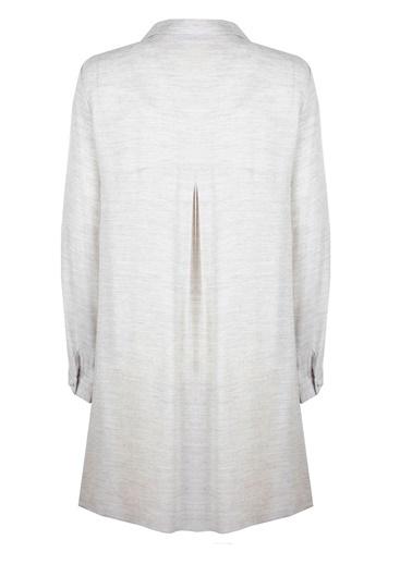 Gömlek Yaka Tunik Elbise-Vekem